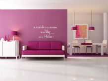 "wall Quote - ""A crumb to a mouse..."" Wall Art Sticker, Modern Decal, Sticker"
